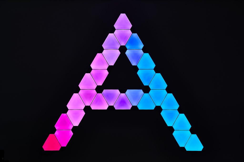 Nanoleaf Logo Curl ADMIN-INTELLIGENCE